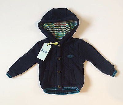 Ted Baker Baby Boy Cardigan Jacket Navy Brand New With Tags 6-9 Months