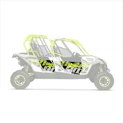 DragonFire HiBoy Door Graphics Can-Am Maverick MAX XDS Turbo '15 Graffiti/Manta