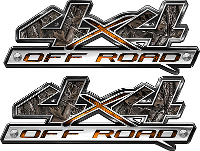 2 4x4 Off Road Truck Camouflage Camo Truck Bed Decals Stickers laminated