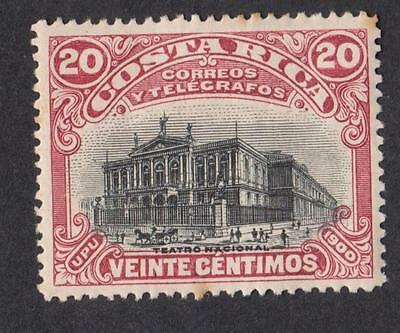 COSTA RICA   N° 45  NEW   years 1901 CV : 18 €