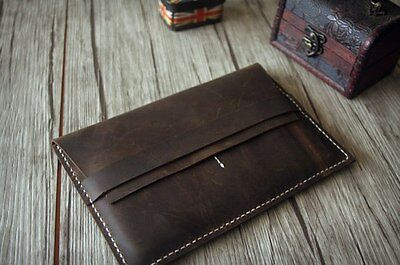 Leather Laptop For Macbook Air/Pro/Retina Case Sleeve Handmade Bag for Apple