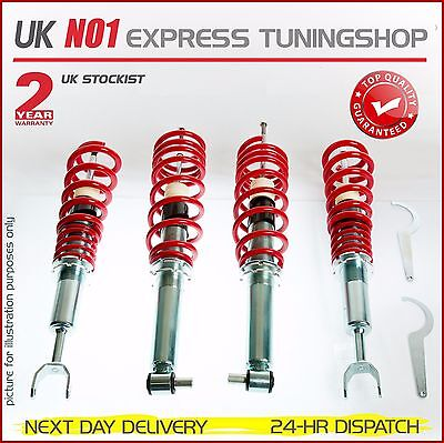 Coilover Seat Ibiza 6J Adjustable Suspension  (Next Day Delivery)
