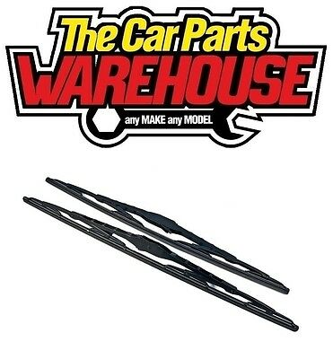 2 x 22 Inch Brand New Conventional Windscreen Wiper Blades Pair Free Delivery