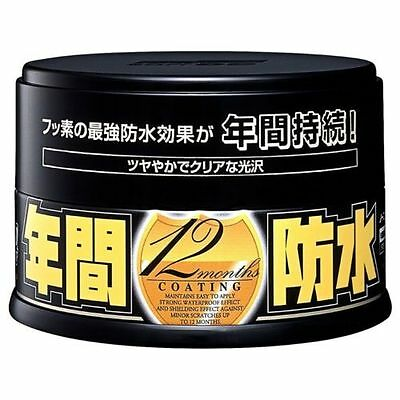 Soft99 Fusso Coat 12 Months Wax Solid Japan Car DARK Auto Care Color KING FRESH!