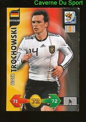 Piotr Trochowski Germany Card Adrenalyn World Cup South Africa 2010 Panini D