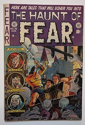 Haunt of Fear Number 19 E.C. Classic Horror Golden Age Comic SOTI