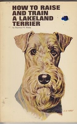 Vintage Lakeland Terrier Book How To Raise And Train
