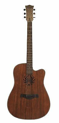 Spanish Look Acoustic Guitar Natural 41 inch iMG842 Free 5 picks iMusicGuitar