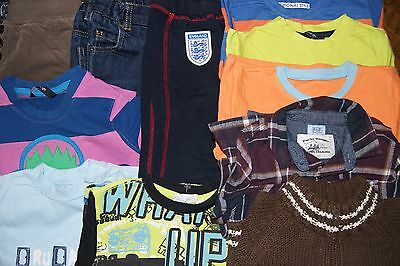 Bundle 11 Baby Boys Clothes Age 18-24 Months Just £16.95 With Free Uk Delivery!