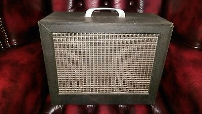 1963 Vintage Kay 803 Guitar Harp All Tube Amp Amplifier, Orig. Working Condition