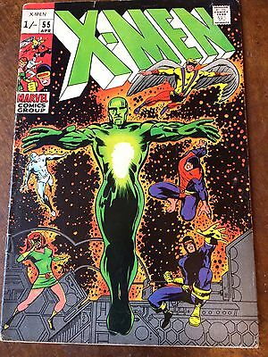 X-Men 55 VG The Living Pharaoh