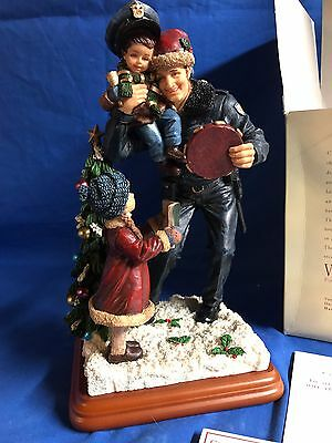 """Blue Hats Of Bravery """"Christmas Tidings""""-Vanmark Limited First Edition 1999"""