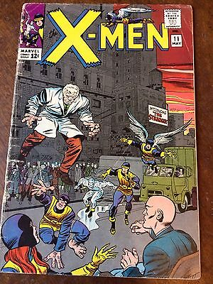X-Men 11 GD first appearance of The Stranger