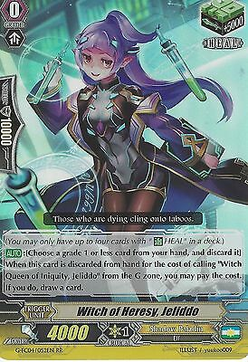 Cardfight Vanguard Card: Witch Of Heresy, Jeliddo - G-Fc04/052En Rr