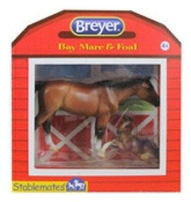 Breyer 05390 Horse And Foal Assorted Styles 2 Pack