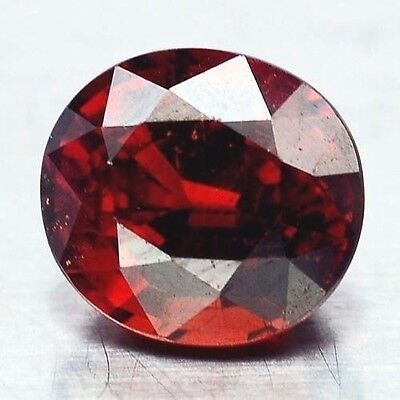TOP SPESSARTINE : 2,73 Ct Natürlicher Orange Rot Spessartin / Spessartit Granat