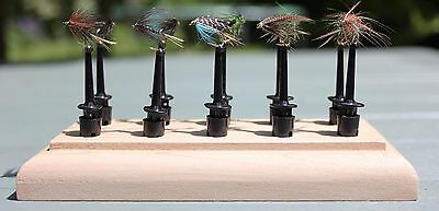 Fly Tying Display and Drying Stand