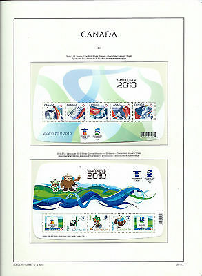 CANADA 2010 - LIGHTHOUSE page 2010.2 - VANCOUVER OLYMPIC WINTER GAMES 2010 - MNH
