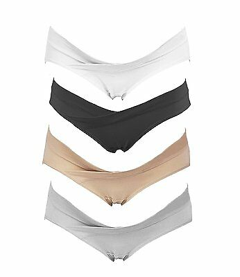 Crazy Cart 4 Pack Womens Under the Bump Maternity Bikini 2XL, Blend Color