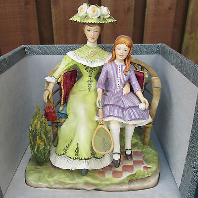 "Royal Worcester Figure ""charlotte And Jane"" - Rw3804 - Perfect & Boxed!"