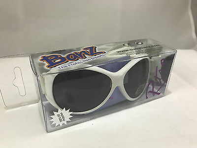 Baby Banz Retro Banz Oval White Baby Sunglasses