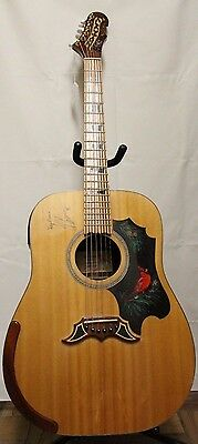 J.P. Cormier(Signed) Custom made Acoustic by Roy Clayton NB Canada