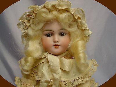 ANTIQUE Simon & Halbig 1249 DEP SANTA Doll EXQUISITE 13""