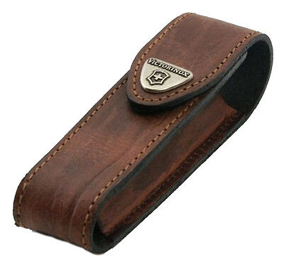 4.0548 VICTORINOX SWISS ARMY KNIFE BROWN POUCH COVER CASE for 111mm Knives