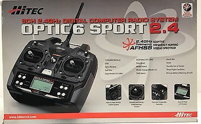 RADIOCOMANDO OPTIC 6 SPORT 2.4GHz MODE1 no servo