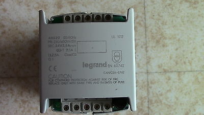 Alimentation redressée filtrée 230/400V- 24V DC 2,5A LEGRAND 46922 Power Supply