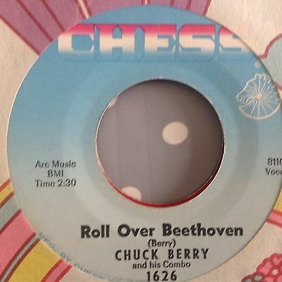 Chuck Berry - Roll Over Beethoven / Drifting Heart Chess 1626. Vg++