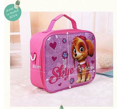 New Cute Dog Lunch Box for Girls Bag Teens School Children Primary Picnic Pink
