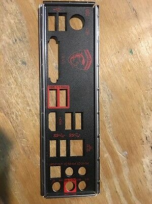 MSI Z170A GAMING PRO CARBON Back plate I/O Shield