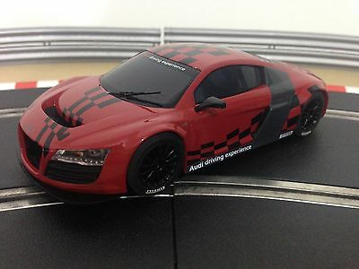 Scalextric Car Audi R8 LMS Red DPR C3177
