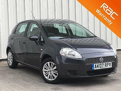 2007 Fiat Grande Punto 1.2 Dynamic 5 door grey