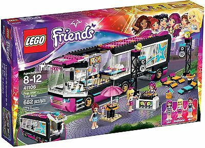 Lego 41106 Friends Pop Star Tour Bus Brand New Sealed Box SAME DAY DESPATCHED