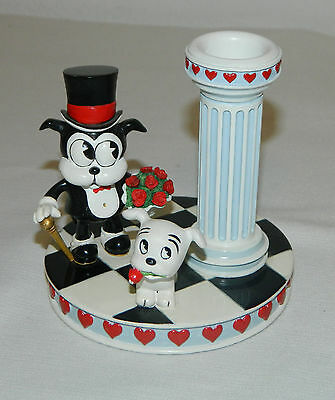 The Danbury Mint Betty Boop Enchanted Evening Collector Candlestick Holder 4.5""
