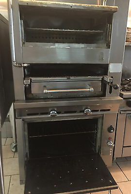 Montague 136W36 Legend Radiglo Broiler Oven Combo Used Less Than 3 Years