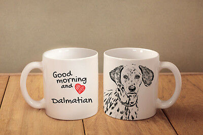 "Dalmatiner - ein Becher ""Good Morning and love"" Subli Dog, CH"