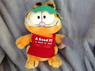 Vintage Garfield    A Good Elf    Plush Toy