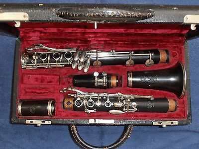 Clarinet Klarinette Bb (wood) : Selmer Paris  France