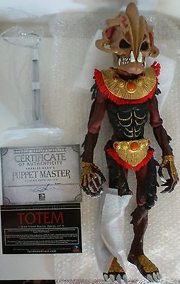 NEW Full Moon Playthings Puppet Master Totem Replica 50 of 200 Long OOP