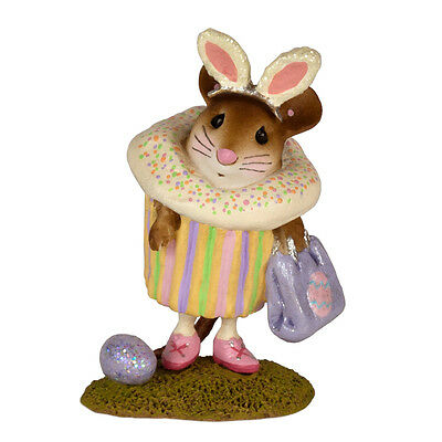 EASTER CUPCAKE TREAT by Wee Forest Folk, WFF# M-574g, Limited Edition 2017