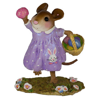 FOUND ONE! by Wee Forest Folk, WFF# M-608, New Mouse for Easter 2017