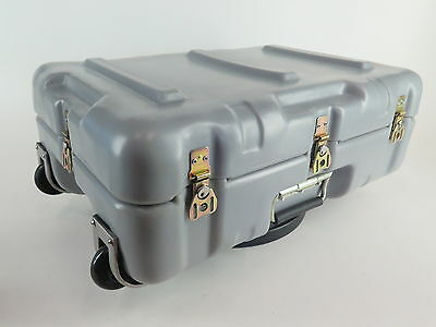 Hardigg Mobile Case Gray Waterproof w/ Foam Pelican Electronic cases