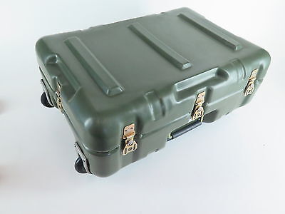 "Hardigg Mobile Case Olive Green with Foam insert  Size: 21""x16""x8"" Pelican Case"