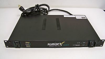 SurgeX SX1120-RT Advanced 8-Outlet Surge Suppressor and Power Conditioner (4C)