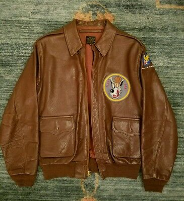 eastman leather A-2 jacket