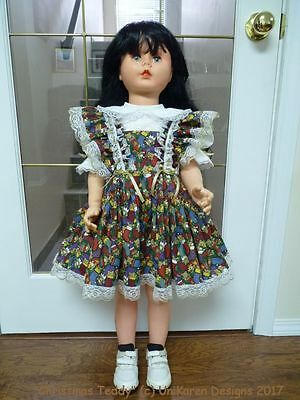"DOLL DRESS & BLOOMERS for Patty Playpal Patti Companion Doll 35"" 36"" (not doll)"