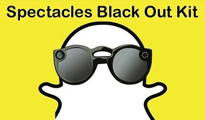 Snapchat Spectacles Yellow Ring Black Out Kit